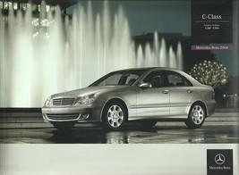 2006 Mercedes-Benz C-CLASS LUXURY brochure catalog C 280 350 US 06 - $8.00