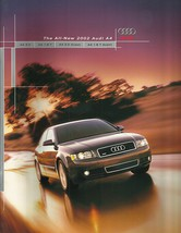 2002 Audi A4 sales brochure catalog 02 US 3.0 1.8T quattro - $8.00