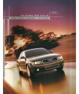 2002 Audi A4 sales brochure catalog 02 US 3.0 1.8T quattro - $8.00