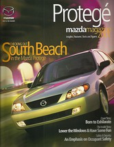 2001 Mazda PROTEGE sales brochure catalog US 01 DX LX ES 2.0 - $8.00