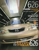 2001 Mazda 626 sales brochure catalog US 01 LX ES V6 - $6.00