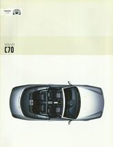2003 Volvo C70 sales brochure catalog US 03 T-5 HPT LPT - $12.00