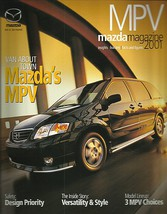 2001 Mazda MPV sales brochure catalog 01 US DX LX ES V6 - $6.00