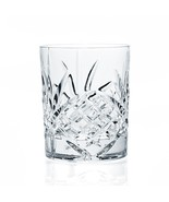Godinger Dublin Crystal Double Old Fashion Whisky Juice Glass Set Of 4 - $49.99