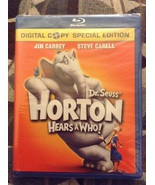 Dr. Seuss Horton Hears a Who! Blu Ray Brand New  - $2.79