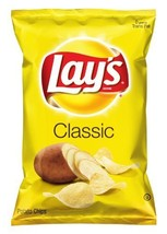 Lay's Potato Chips, Classic, 10 Ounce (Pack of 4) [Grocery] - $18.32