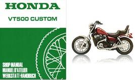 1983-1986 Honda Shadow 500 VT500C Service Repair Workshop Manual CD --- VT500 VT - $12.00