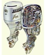 Honda BF115A / BF130A Outboard Motor Service Repair Manual CD ---- BF 11... - $12.00