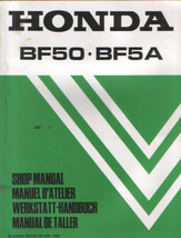 Honda BF5O - BF5A Outboard Motor Service Repair Manual CD ----- BF 5O BF 5A 5 A - $12.00
