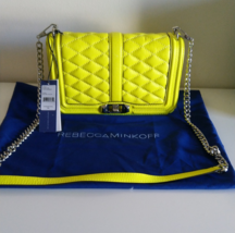 Rebecca Minkoff  Love Cross Body Bag Electric Yellow - $130.00