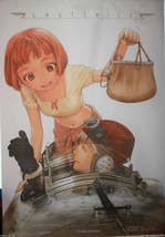 "Last Exile Flag Poster Size 29.25"" x 44.5"" Wall Hanging Fabric Material ... - $47.41"