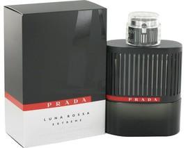 Prada Luna Rossa Extreme Cologne 3.4 Oz Eau De Parfum spray image 1
