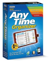 Individual Software Anytime Organizer Deluxe 14 PC NEW - $16.66
