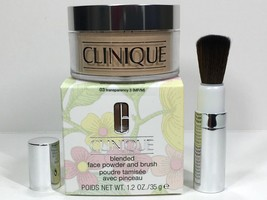 Clinique Blended Face Powder #03 Transparency 3 NIB Expires 12/2022 - $29.50