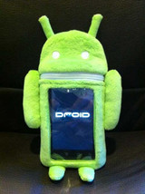 Google Android 7 Inch Tall Plush Phone Holder Brand NEW! - $17.99