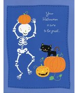 "Greeting Card Halloween ""Your Halloween is sure to be great..."" - $1.50"