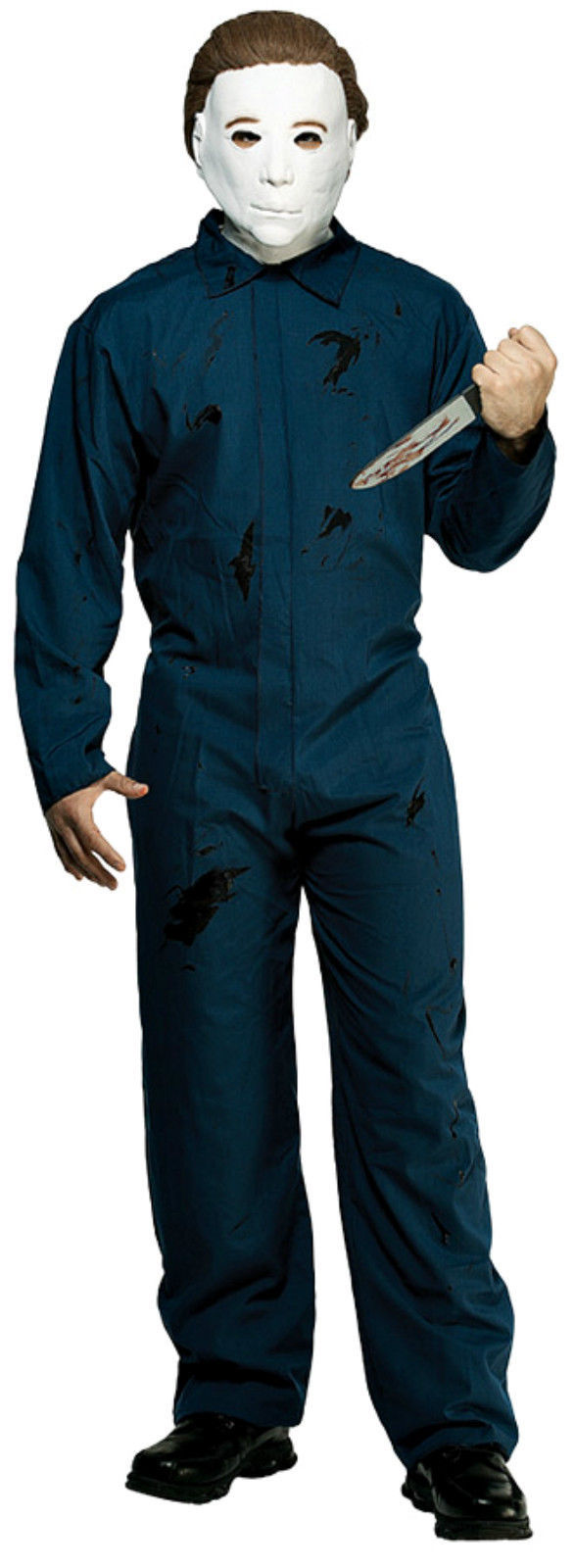 Michael Myers Halloween I Overalls Jumpsuit Plus Size with Mask