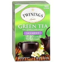 Twinings Of London Green Tea Jasmine - 20ct Box - $8.86