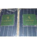 New Ralph Lauren Worth Avenue Stripe King Pillow Shams - 2 Shams - New - $59.39