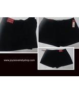 Merona Chinos Short Shorts NWT Women's SZ 8 Black Low Rise - $12.99