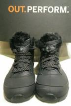 New Merrell Women Atmost Mid Waterproof Black Winter Boots Trekking US 7.5 EUR38 - $74.94
