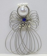2014 Dated Angel Ornament Handmade - $8.00