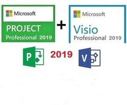 Microsoft Visio 2019 + Project Professional 2019 Activation Pack - $39.99