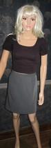Victoria's Secret $50 Grey Heather Back Ruffle Skirt 2 - $22.00