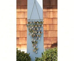 Ancient Graffiti ANCIENTAG1109 Shimmering Bells Butterflies (Set of 1) - $34.86