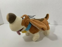 Disney Store The Great Mouse Detective Toby bean plush basset hound dog stuffed - $7.91