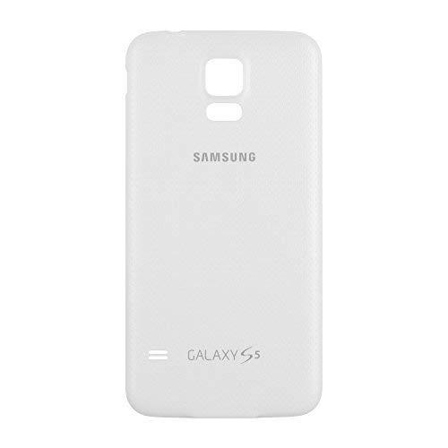 OEM Samsung Galaxy S5 SM-G900 Battery Door Back Cover Replacement - Shimmery Whi