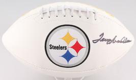 Terry Bradshaw Signed Pittsburgh Steelers Logo Football JSA - $233.74