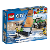 LEGO City Great Vehicles 4x4 with Catamaran 60149 Building Kit [New] - $29.99