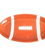 Hand painted medium football snack platter - $47.41 CAD