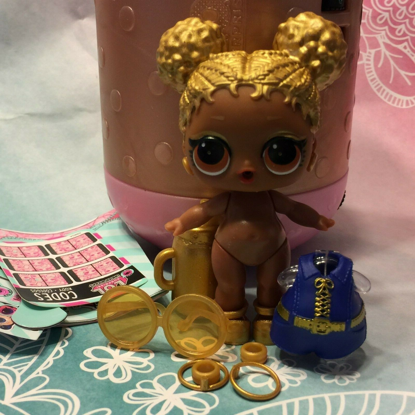 Series 4 Under Wrap Dolls AUTHENTIC Lol Surprise Doll BIG SIS SOUL BABE