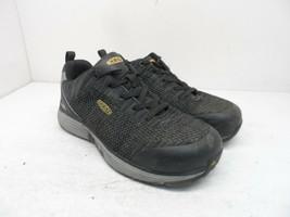 KEEN Women's Low-Cut Sparta Alloy-Toe ESD Work Shoes Black/Grey-Flannel ... - $56.99