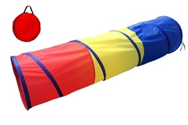 Play Tunnel Kids Tent Crawl Through Pop Up Tube Indoor Outdoor for Kids ... - $21.33