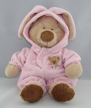 """Ty Love To Baby Bear in Pink Removeable Bunny Pajamas 2004 Plush 12"""" - $34.64"""