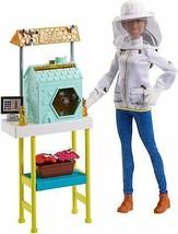 Barbie Beekeeper Playset new doll set career nip - $22.47