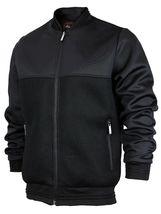 Men's Lightweight Multi Pocket Letterman Varsity Mesh Track Bomber Jacket image 14