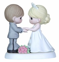 Precious Moments,  From This Day Forward Bisque Porcelain Figurine, 123017 - $69.39