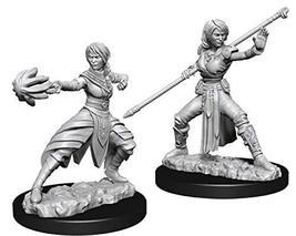 Nolzur's Marvelous Miniatures Wizkids - D&D Female Half-Elf Monk - WZK73839 - $8.99