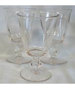 Duncan Miller Canterbury Water Goblet set of 3 - $33.55