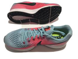 Nike Air Zoom Pegasus 34 Running Sz 8.5 M Mica Blue/White-Racer Pink 880561-406 - $66.48