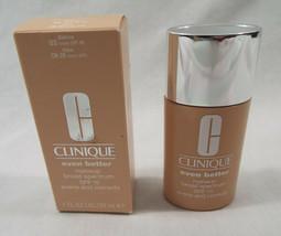 Clinique Even Better Makeup Broad Spectrum SPF 15 in Ivory CN 28   1 Fl Oz  - $32.66