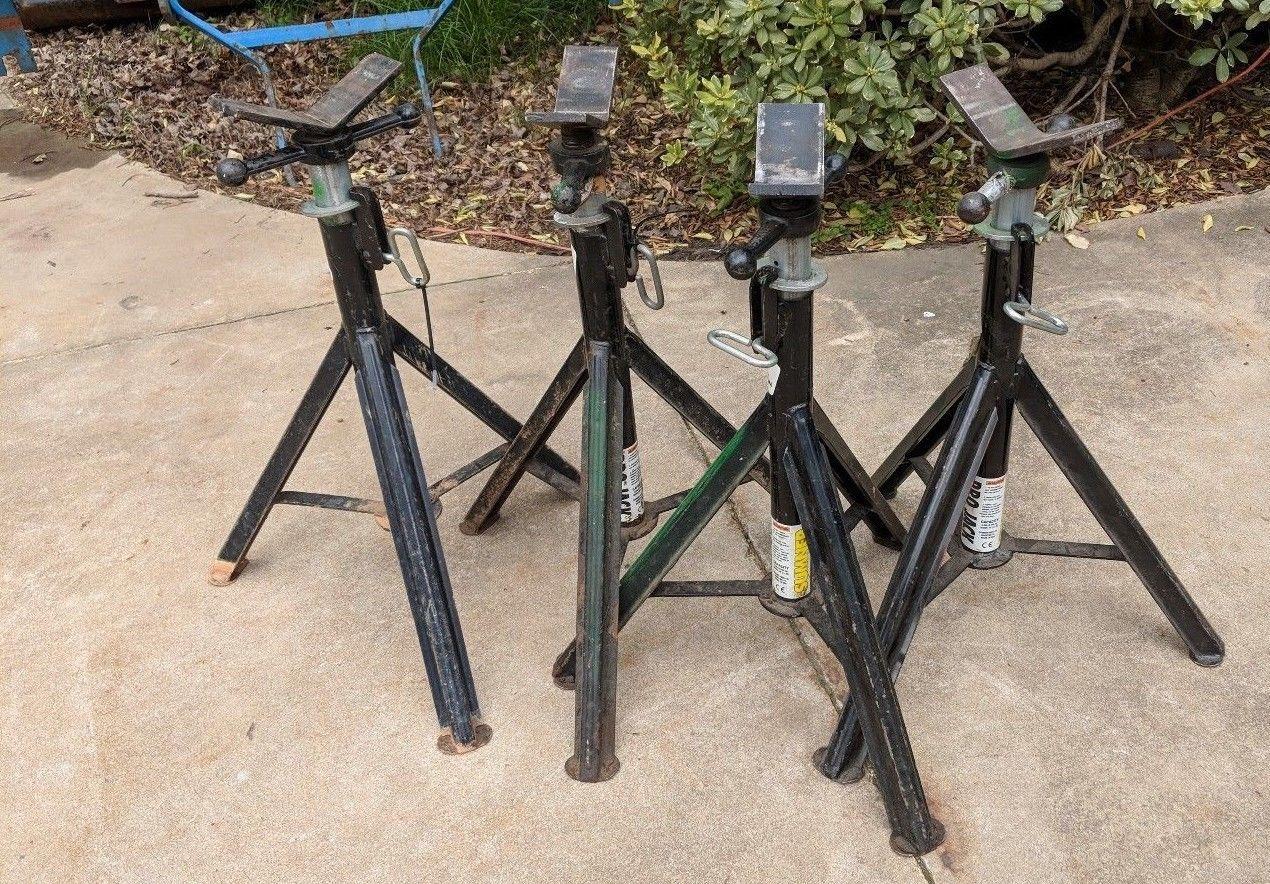 set of 4 Sumner Pro Jack with Vee-Head