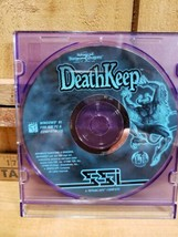 Advanced Dungeons & Dragons 2nd Edition Deathkeep Tsr Game 1996 Pc Disc Only - $28.91