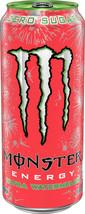 NEW MONSTER ULTRA WATERMELON ENERGY DRINK 16 FL OZ (473mL) 1 FULL CAN BU... - $11.99