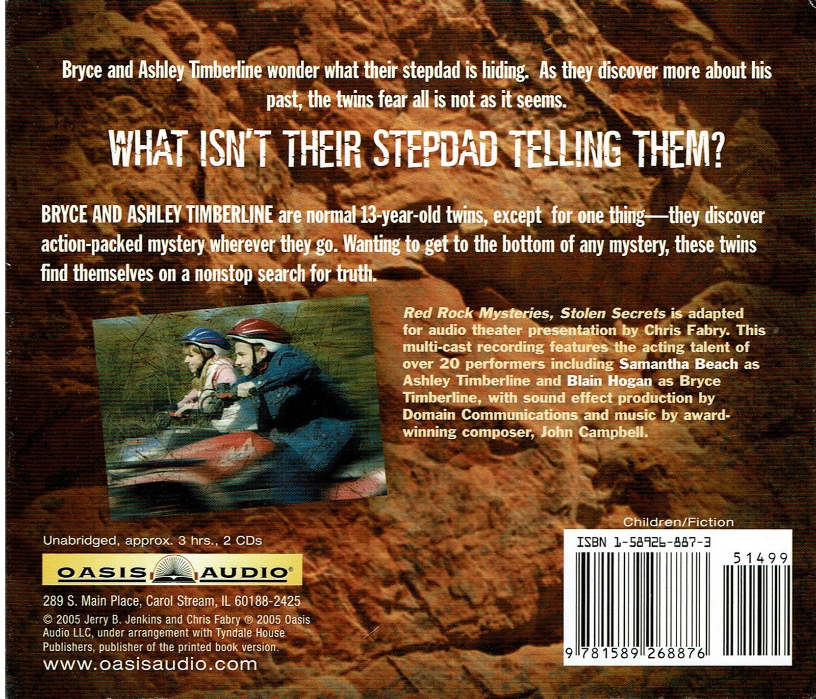 Stolen Secrets (Red Rock Mysteries) Audiobook Audio CD, Unabridged 3 hours 2 CDs