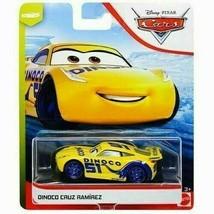 "Disney Pixar Cars ""Dinoco Cruz Ramirez"" Toy Car - Next Gen Piston Racers!"